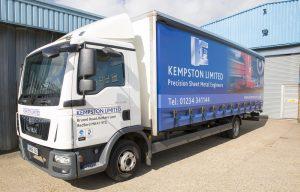 new addition to Kempston Ltd Fleet