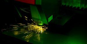 Fiber Laser in Action