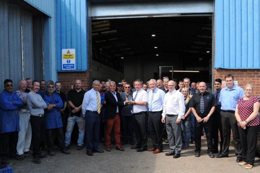 Kempston Ltd receive award